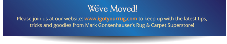 We've moved! Please visit our blog at igotyourrug.com/oriental-rug-blog