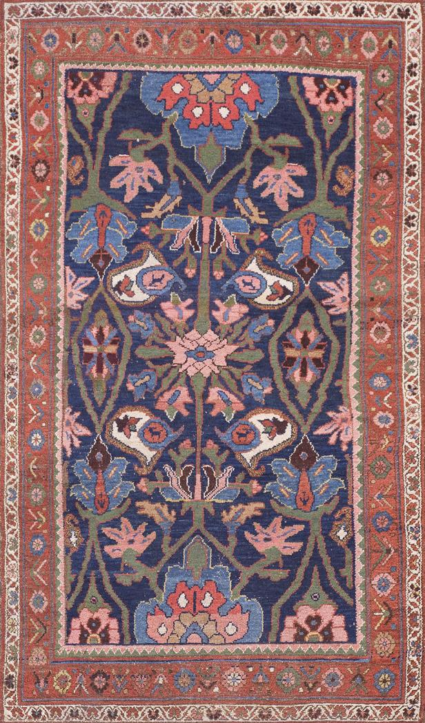 100 antique rugs kerman antique carpets