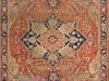 Antique Red Heriz Oriental Rug