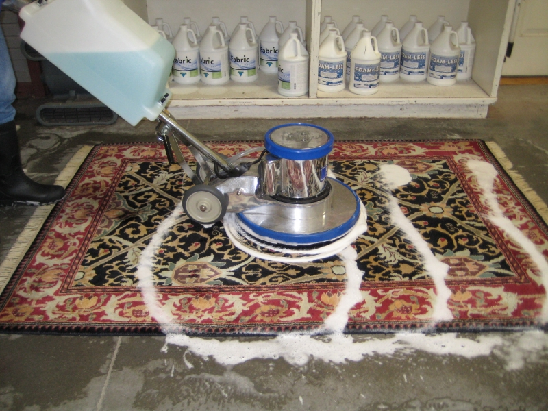 Rug Cleaning Area