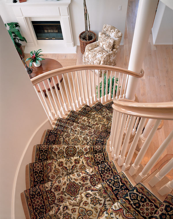 Stair Runner Installation