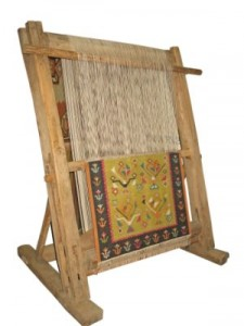 rug weaving loom