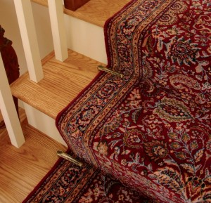 Stair holds for stair runners Hampton Roads