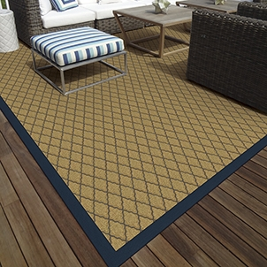 Indoor/Outdoor Carpet and Rugs Extend Your Living Space Outdoors