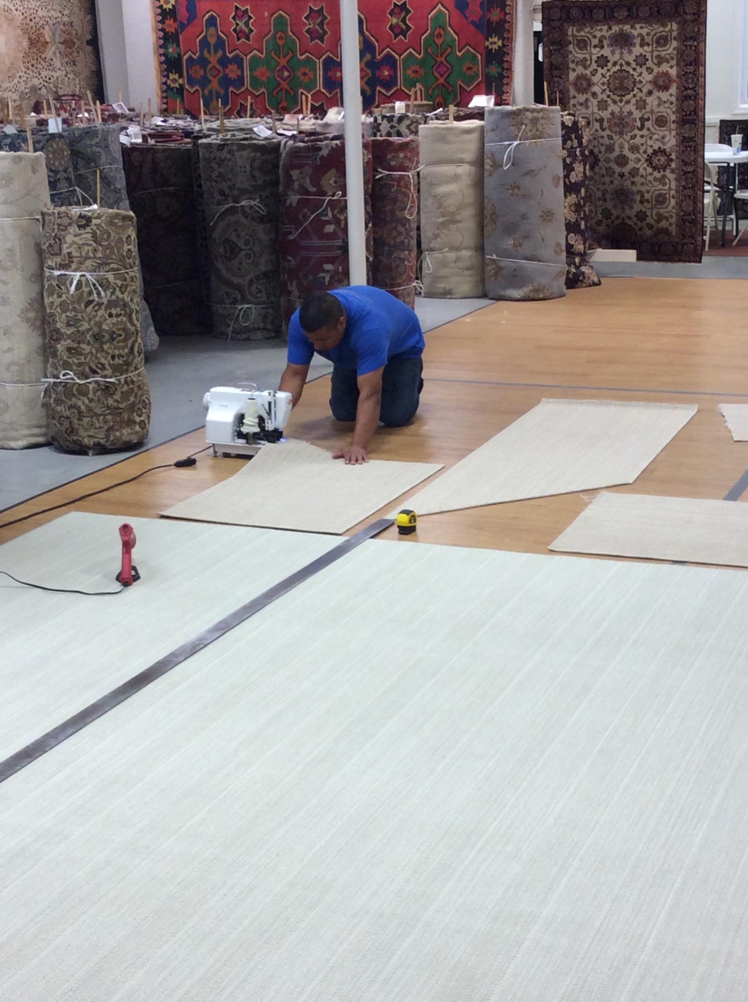 Carpet Binding Fringing And Serging Mark Gonsenhauser